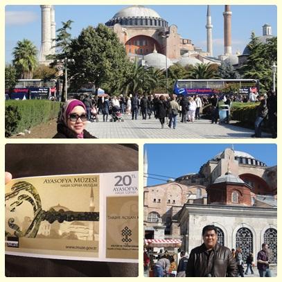 Hagia Sophia @ Istanbul, Turkey